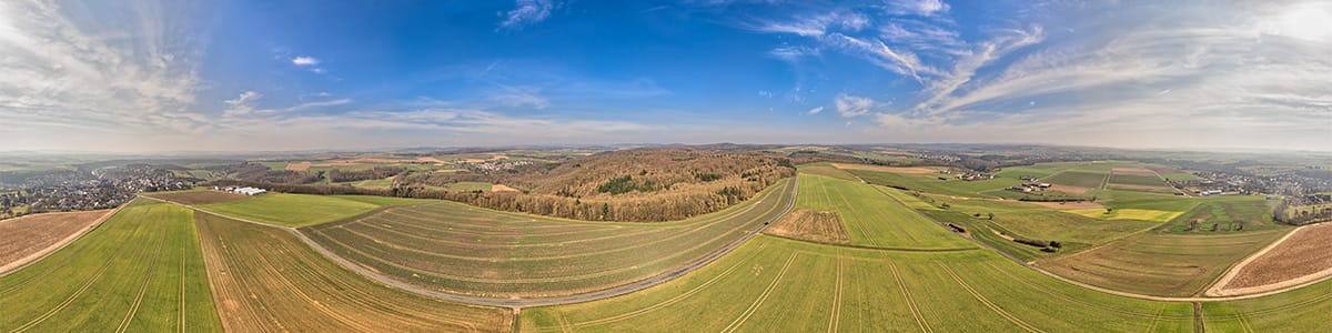 Panorama near Runkel taken with the Phantom
